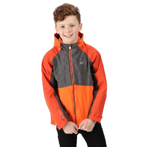 Kids' Hydrate IV Reflective Waterproof 3 In 1 Jacket Rusty Blaze Orange